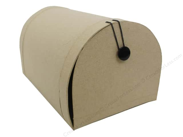 PA Paper Mache Small Mail Box 10 in.