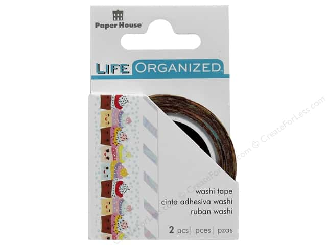Paper House Collection Life Organized Washi Tape Kawaii