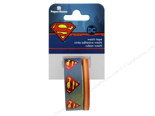 Paper House Washi Tape DC Comics Superman Logo