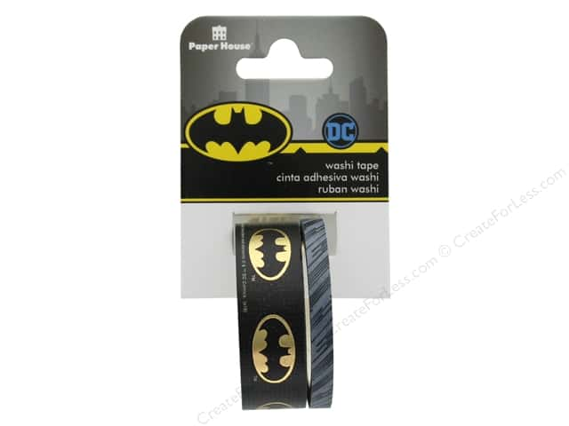 Paper House Washi Tape Batman Logo