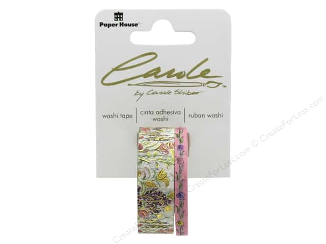 Paper House Washi Tape Wildflowers