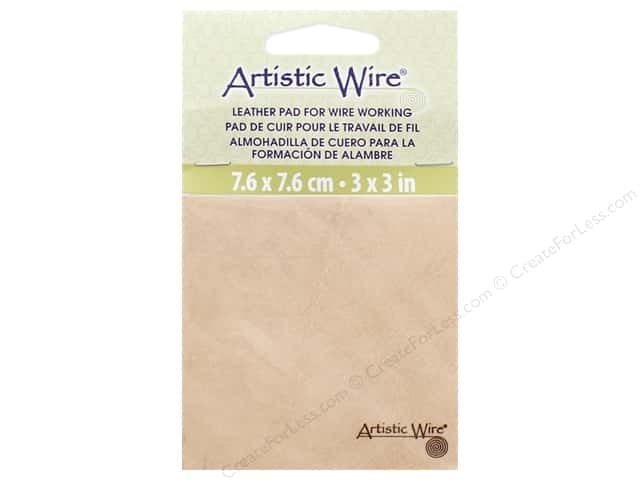 Artistic Wire Leather Pad for Wire Working