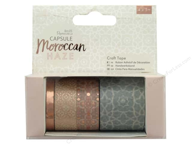 Docrafts Papermania Capsule Craft Tape Moroccan Haze