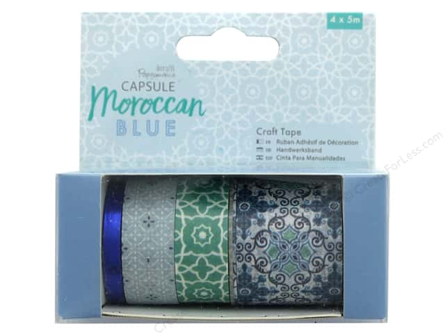 Docrafts Papermania Capsule Craft Tape Moroccan Blue