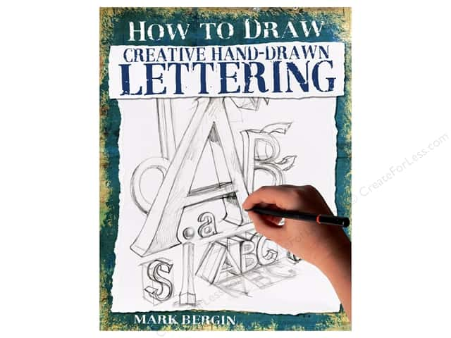 Scribo Publishing How To Draw Creative Hand-Drawn Lettering Book