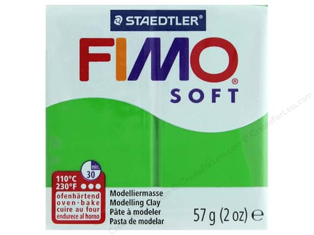Fimo Soft Clay 2 oz. Tropical Green