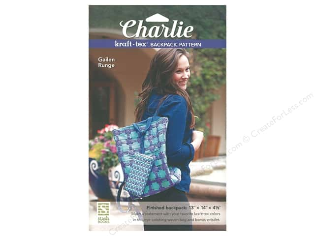 Stash By C&T Charlie Kraft-Tex Backpack Pattern
