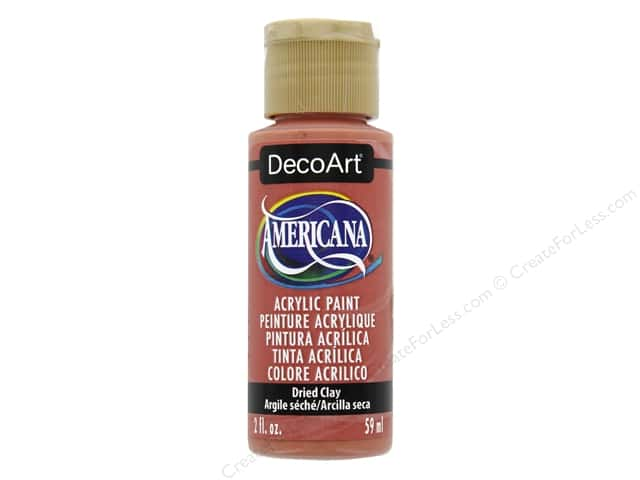 DecoArt Americana Acrylic Paint 2 oz. #356 Dried Clay