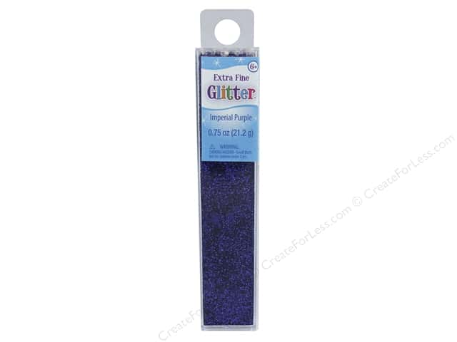 Sulyn Glitter Extra Fine .75 oz Imperial Purple