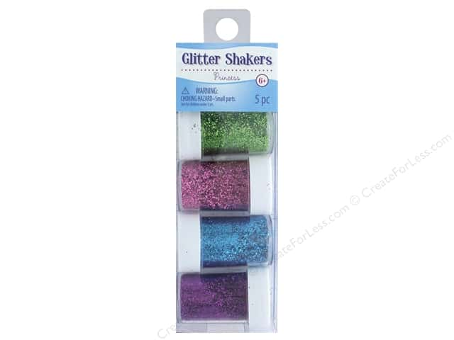 Sulyn Glitter Shakers Princess 5 pc