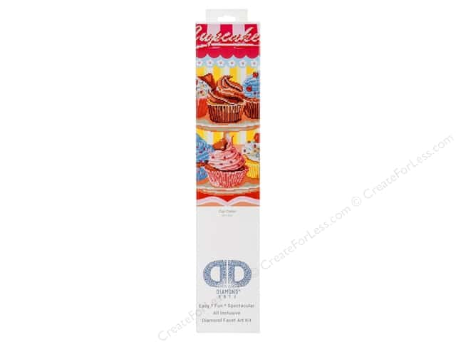 Diamond Dotz Intermediate Kit - Cup Cakes