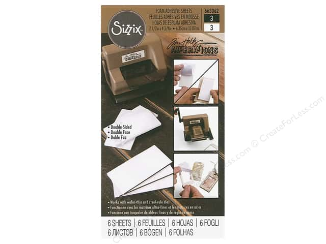 Sizzix Tim Holtz Sidekick Mini Foam Adhesive Sheets Assorted