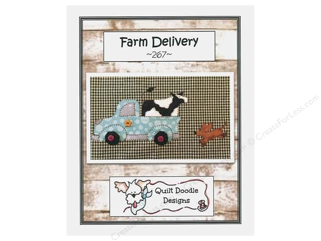Quilt Doodle Designs Farm Delivery Pattern