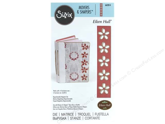 Sizzix Dies Eileen Hull Movers & Shapers Magnetic Floral Cut Out