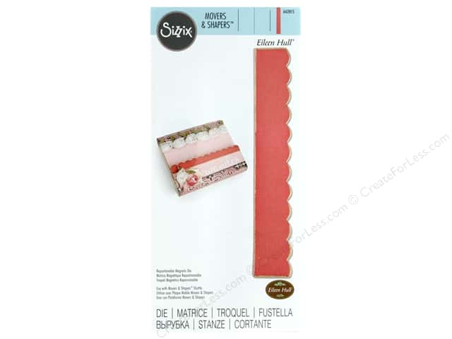 Sizzix Dies Eileen Hull Movers & Shapers Magnetic Scallop Border