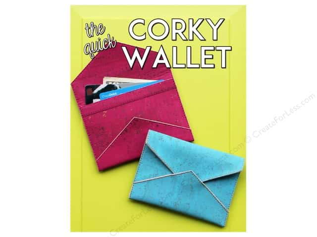 Sassafras Lane Designs The Quick Corky Wallet Pattern