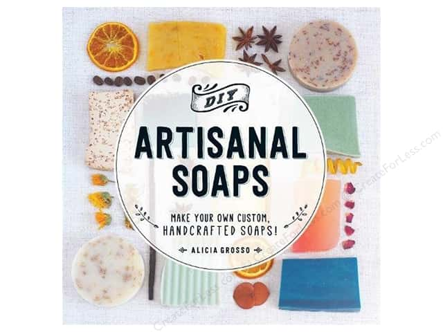 Adams Media DIY Artisanal Soaps Book