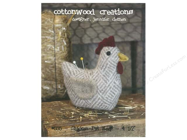 Cottonwood Creations Chicken Pin Keep Pattern