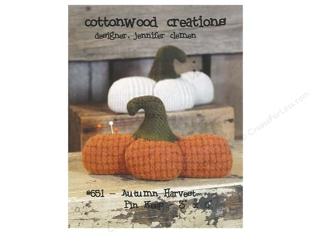 Cottonwood Creations Autumn Harvest Pin Keep Pattern