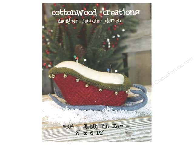 Cottonwood Creations Sleigh Pin Keep Pattern