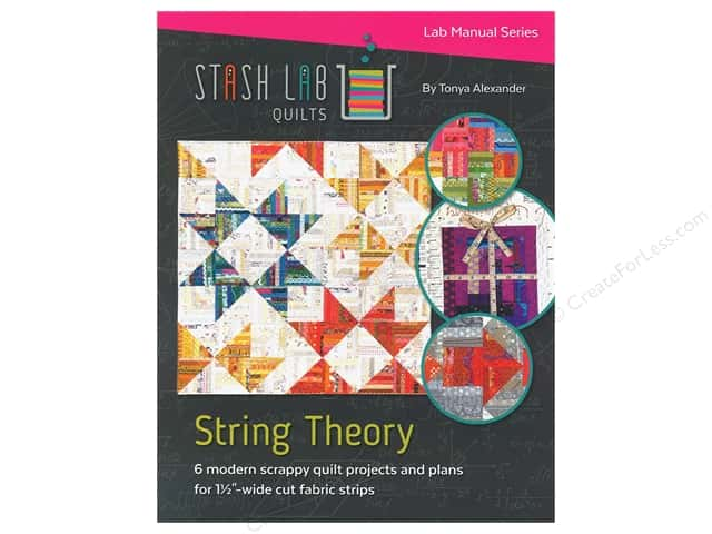 Stash Lab Quilts String Theory Booklet