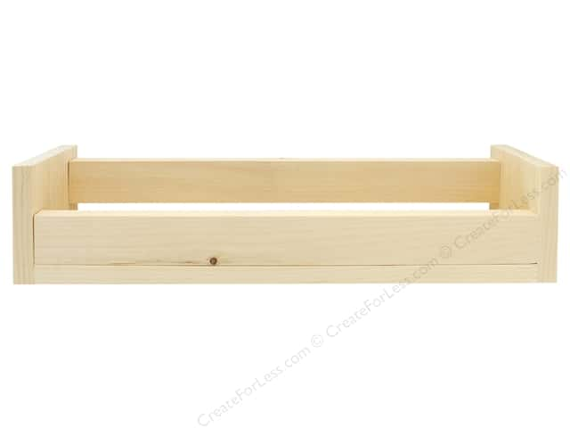 Walnut Hollow Wood Display Rack Pine 1 in. x 4 in. x 3.63 in.