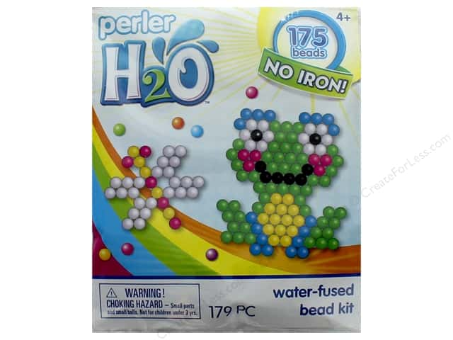 Perler H2O Water Fused Bead Kit Trial Frog & Dragonfly