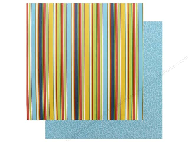 Authentique Collection Summertime Paper 12 in. x 12 in.Four (25 pieces)