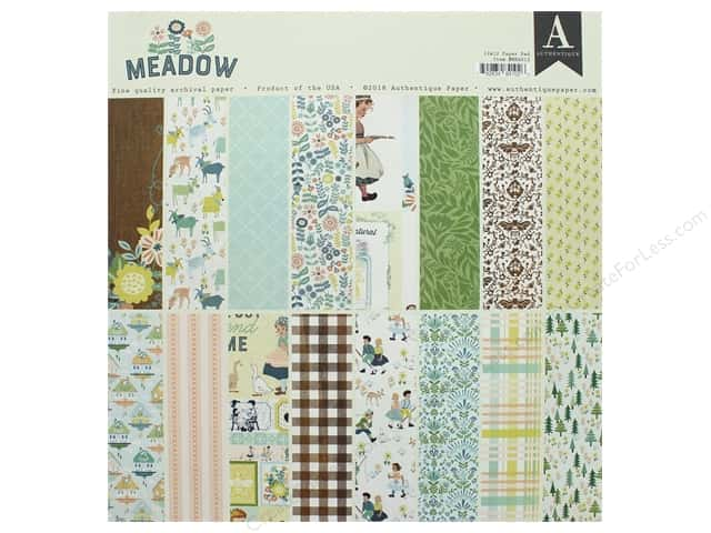 Authentique Collection Meadow Paper Pad 12 in. x 12 in.