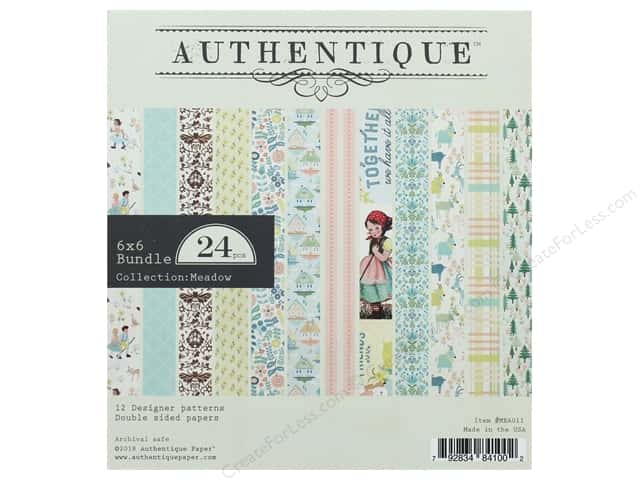 Authentique Collection Meadow Bundle Pad 6 in. x 6 in.