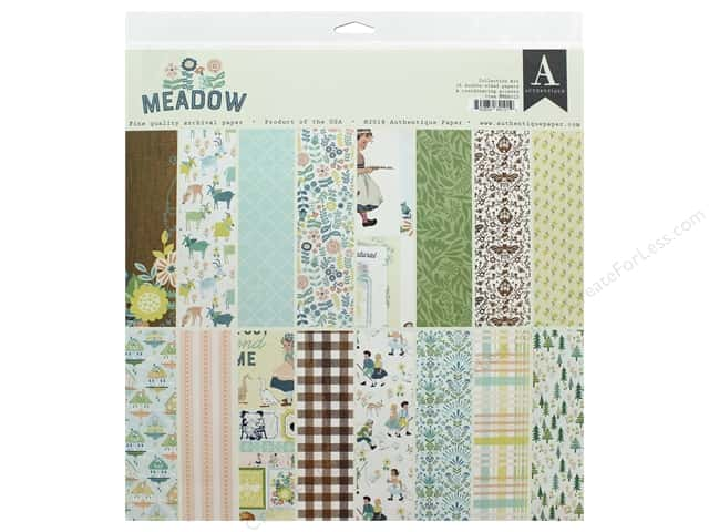 Authentique Collection Meadow Collection Kit 12 in. x 12 in.