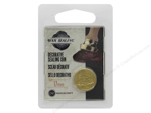 Manuscript Wax Sealing Coin 17 mm Cake