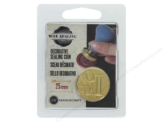 Manuscript Wax Sealing Coin 25 mm Love