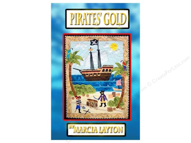 Marcia Layton Designs Pirates' Gold Pattern