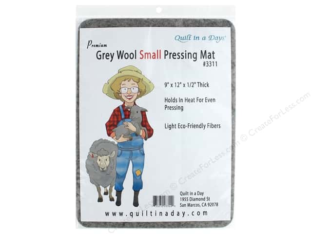 Quilt In A Day Pressing Mat Small Wool Gray