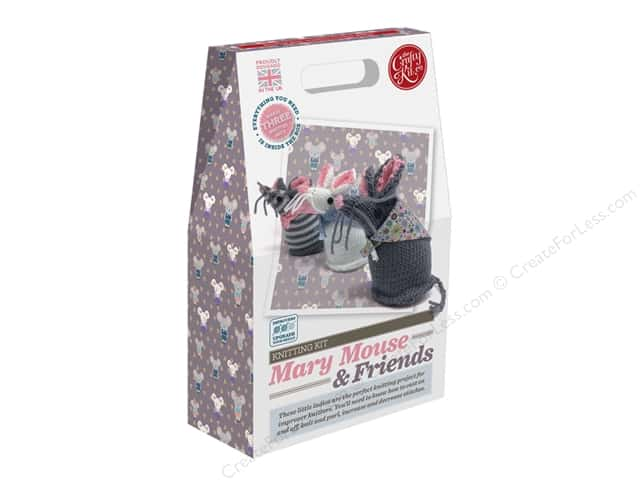 Crafty Kit Company Kit Knitting Mary Mouse & Friends