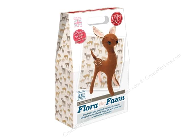 Crafty Kit Company Kit Sewing Flora The Fawn