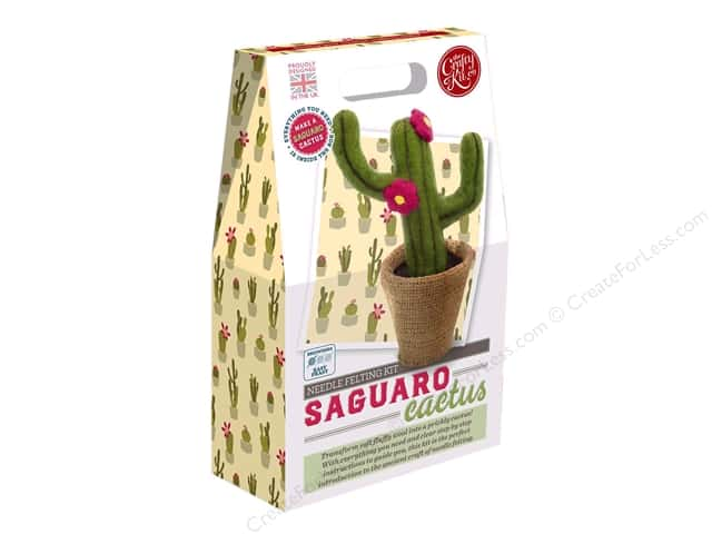 Crafty Kit Company Kit Needle Felt Saguaro Cactus