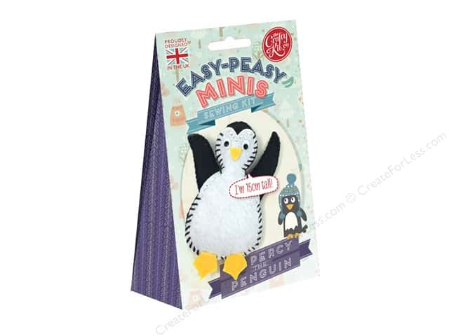 Crafty Kit Mini Kit Percy The Penguin