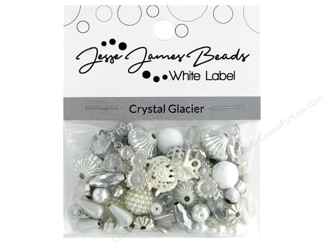 Jesse James Bead White Label Design Element Crystal Glacier