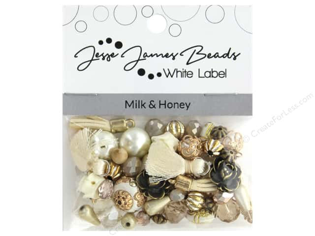 Jesse James Bead White Label Design Element Milk & Honey