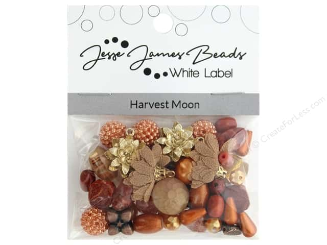 Jesse James Bead White Label Design Element Harvest Moon
