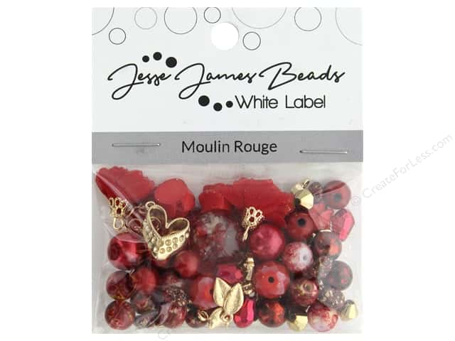 Jesse James Bead White Label Design Element Moulin Rouge