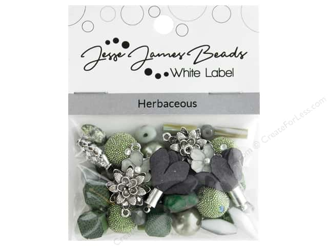 Jesse James Bead White Label Design Element Herbaceous