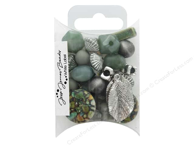 Jesse James Bead White Label Inspiration Herbaceous