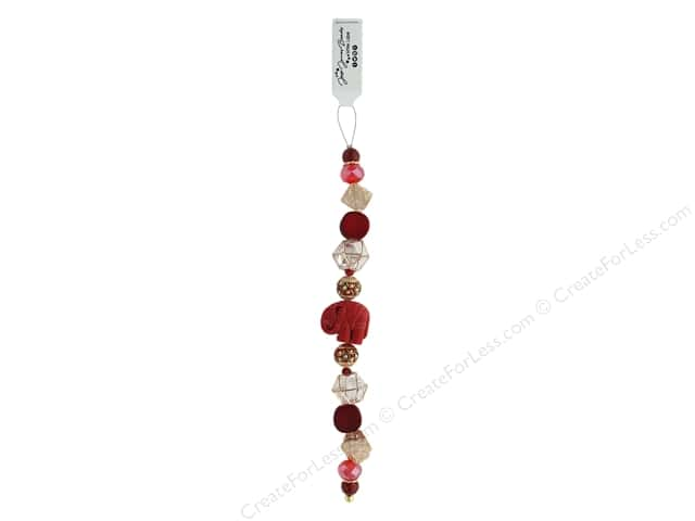 Jesse James Bead White Label Strand Moulin Rouge