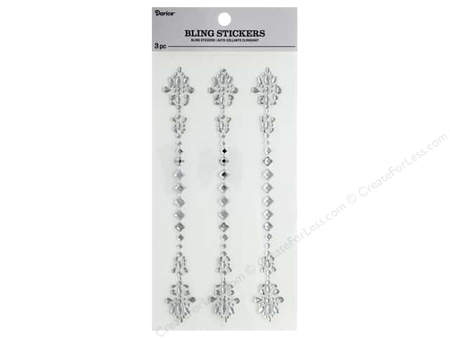 Darice Sticker Bling Diamond Medal 3 pc