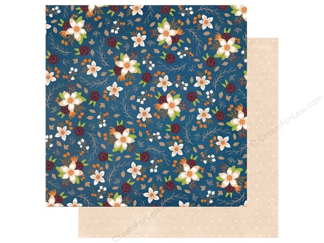 Bo Bunny Collection Stay Awhile Paper 12 in. x 12 in. Stay Awhile (25 pieces)