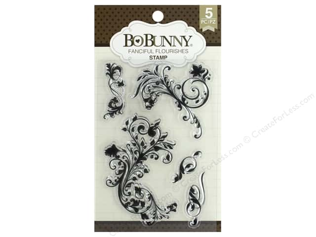Bo Bunny Stamp Essentials Flourishes