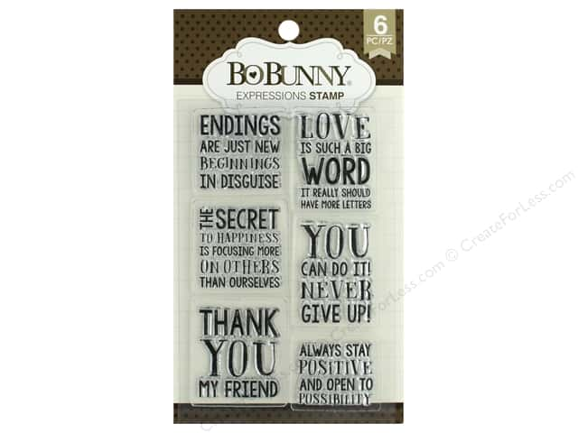 Bo Bunny Stamp Essentials Expressions